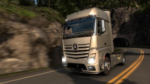 euro truck simulator 2 mercedes benz actros 2014 kommt kostenlos f r alle news. Black Bedroom Furniture Sets. Home Design Ideas
