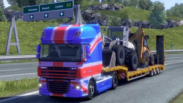 euro truck simulator 2 uk irland und schottland. Black Bedroom Furniture Sets. Home Design Ideas