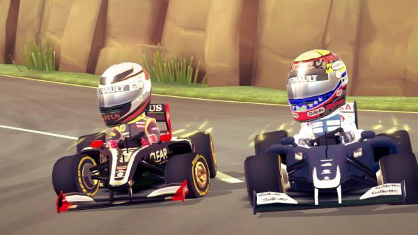 F1 RACE STARS: Gameplay-Trailer und neue Screenshots