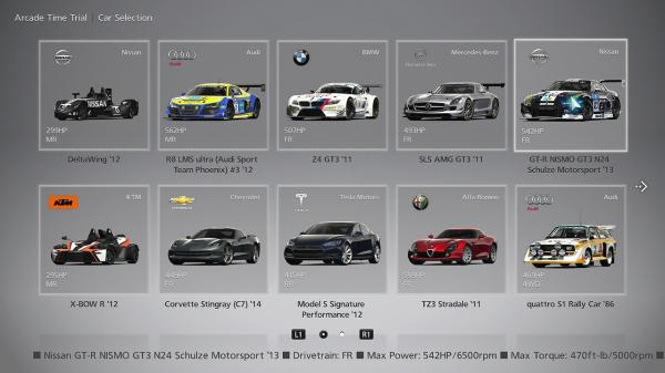 List Of Cars From Gt Sport License Tests