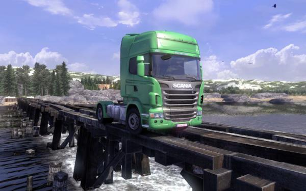 Scania Truck Driving Simulator - The Game: PC-Patch V1.1.0 zum Download
