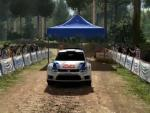 WRC 4: Gameplay-Action mit dem VW Polo R-WRC in Finnland