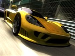Project Gotham Racing 3: Rennkostprobe mit Force Feedback-Lenkrad