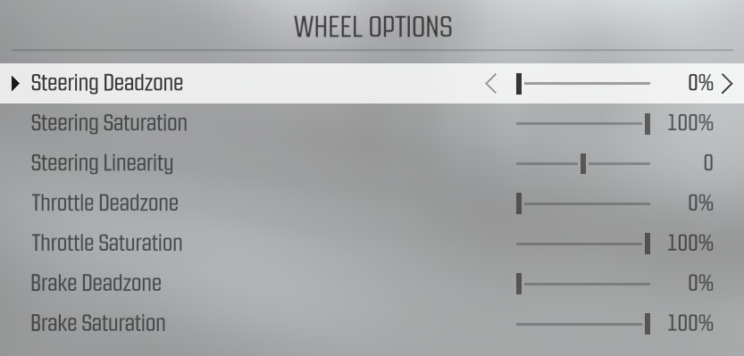 project cars g27 settings